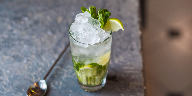 Why Bartenders Spank Your Mint