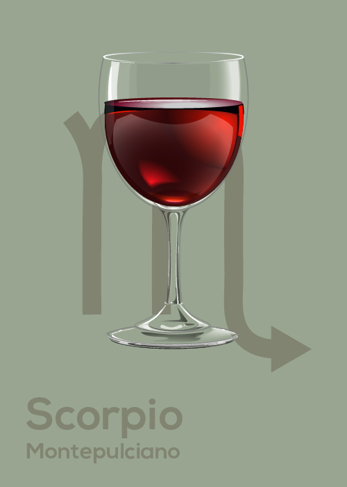 Here's Your April Horoscope and Drink Pairing Scorpio
