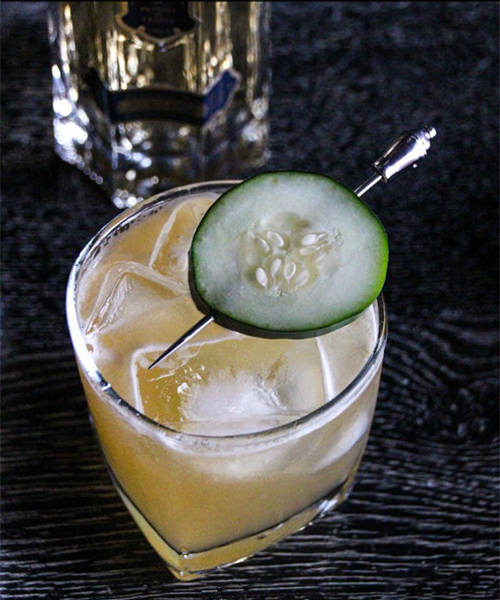 The Irish Made St. Patrick's Day Cocktail with St. Germain and Jameson for a Cocktail Party