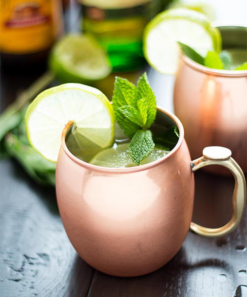 The Jameson Irish Mule for St. Patrick's Day Cocktails