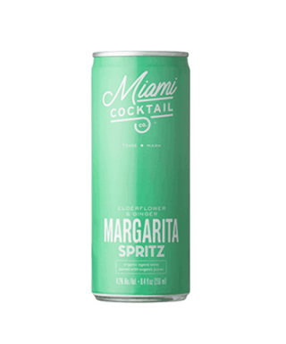 Miami Cocktail Co. Elderflower and Ginger Margarita Spritz Is One of the Best Canned Cocktails for Summer 2020