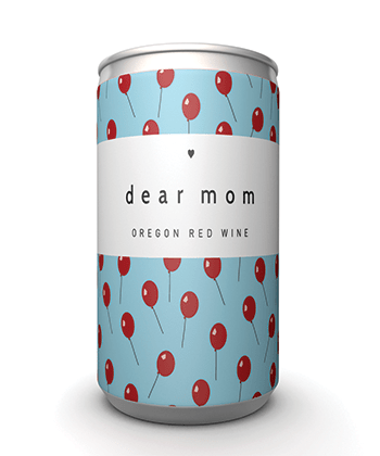 Dear Mom Oregon Red Wine is one of the best canned wines for Summer 2020
