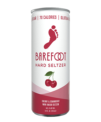 Barefoot Cherry is one of the best hard seltzers for fall 2020