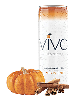 Vive Pumpkin Spice is one of the best hard seltzers for fall 2020