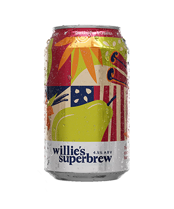 Willie's Superbrew Pear Cinnamon is one of the best hard seltzers for fall 2020