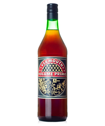 Vermouth Volume Primo is one of the best vermouths for mixing Negronis.