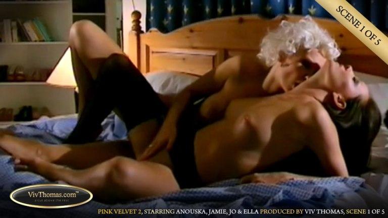 Pink Velvet 2 Part 1 (Anouska A, Ella A, Jamie A, Jo) - Viv Thomas