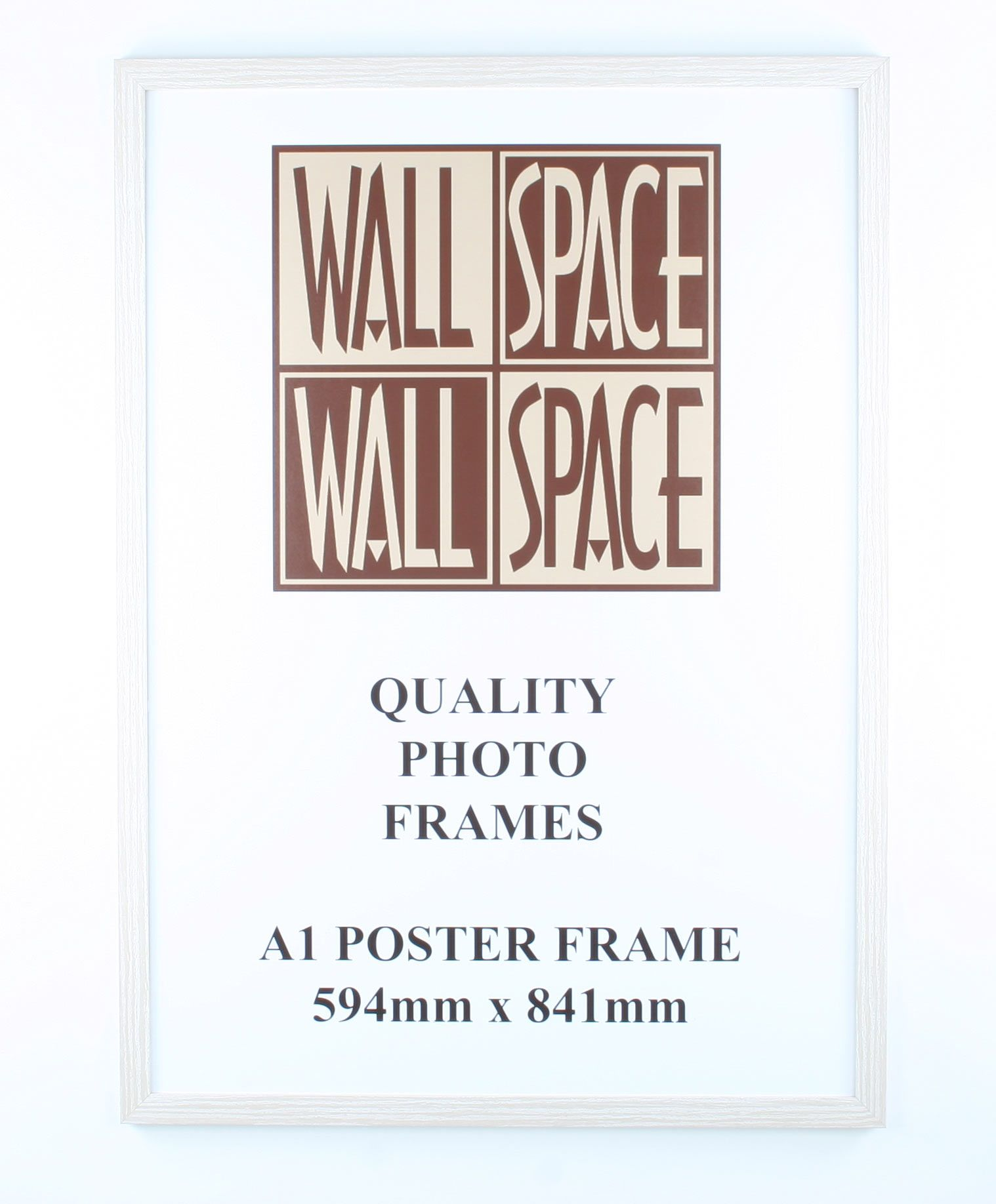 a1 wooden poster frame white wood