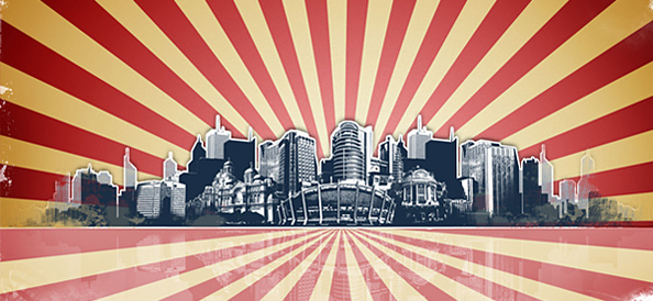 Landscape Grunge City