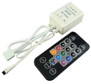Mini Digital LED Strip Controller with IR remote  BuyLEDStrip