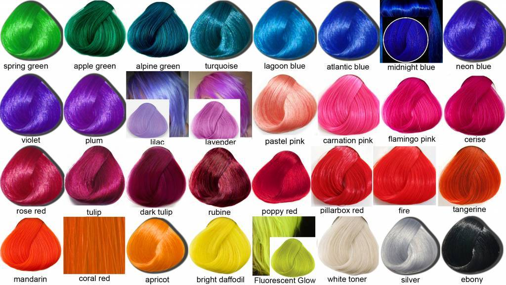 Ion Color Brilliance Hair Color Chart
