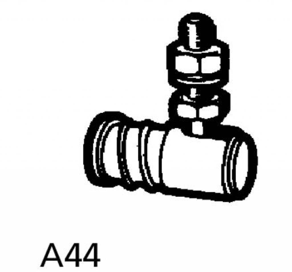 A44 Uitneembaar Kogelgewricht Voor Kabelbesturing