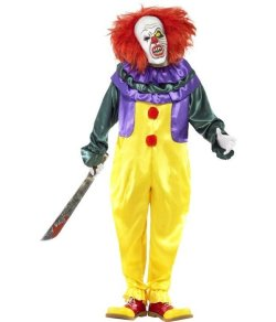 Goedkope halloween kleding clown
