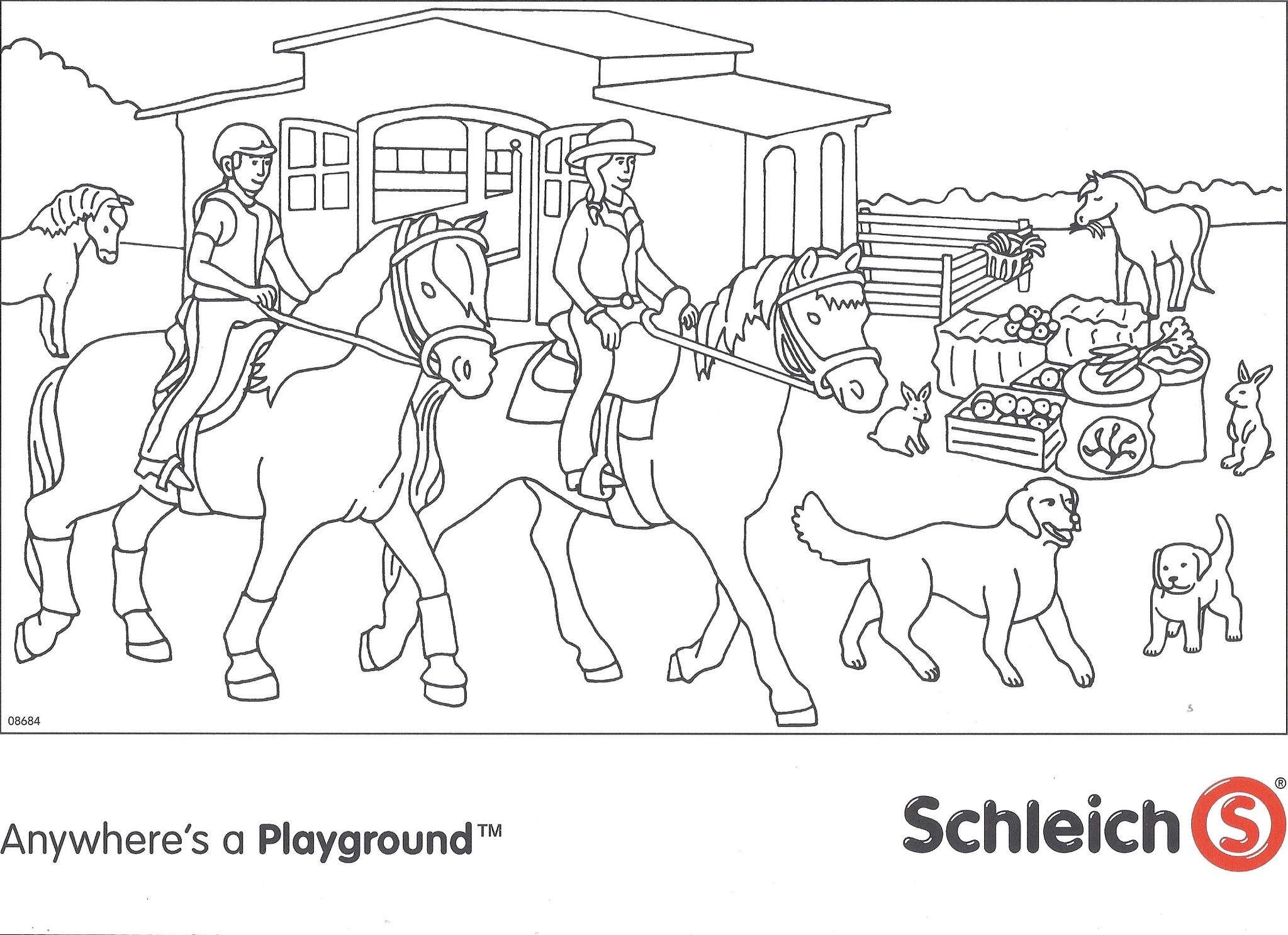 Kleurplaten Honden En Paarden.Coloring Sheets Of Horses Dover Publications You Can Browse Our