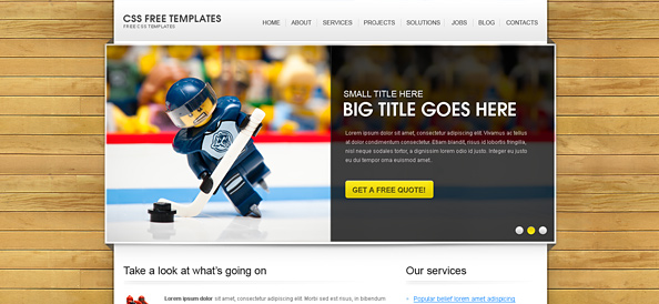 Free Website CSS Templates, Business Templates, Corporate Templates ...