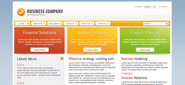 Free website css templates business templates corporate templates business website template fbccfo Image collections