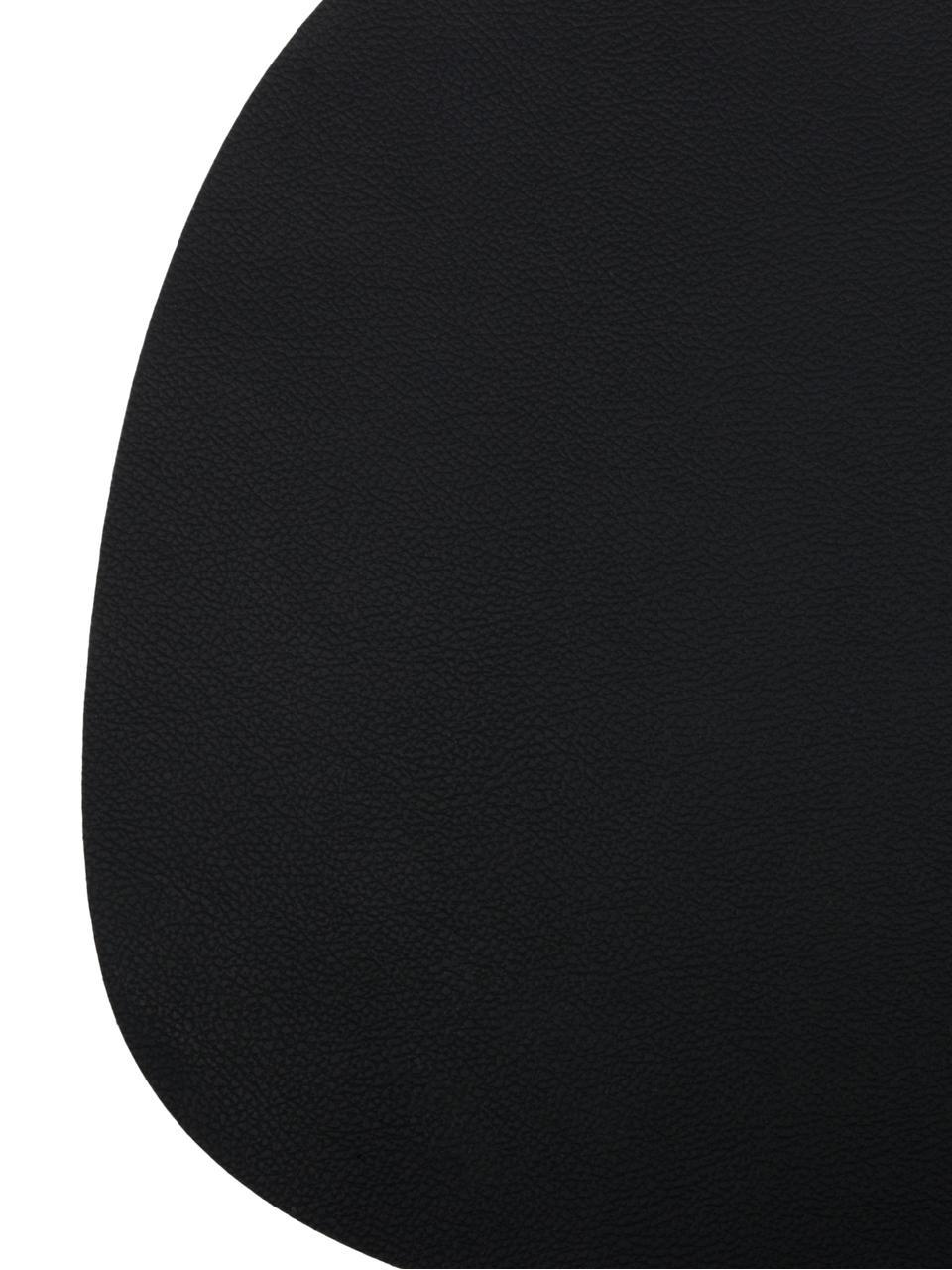set de table ovale en cuir leni 2 pieces