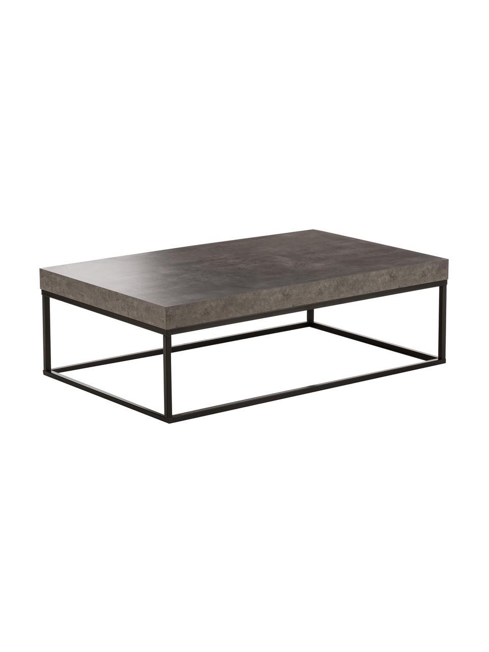 table basse aspect beton ellis