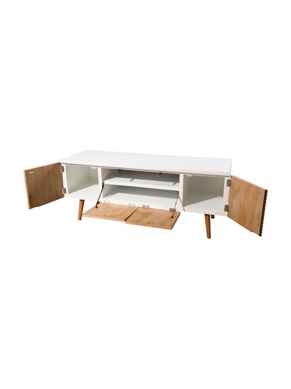 meuble tv scandinave avec portes pedro