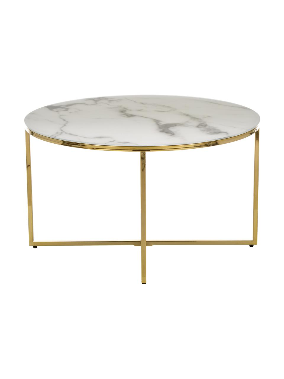 table basse verre marbre antigua