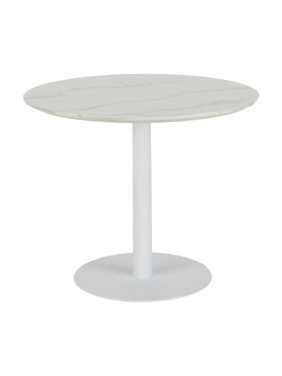 table ronde blanche karla