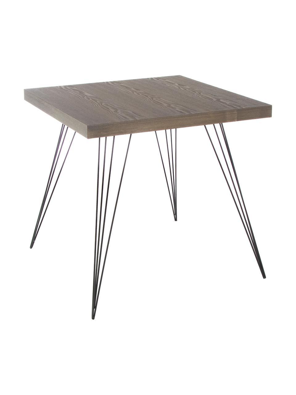 petite table carree a pieds en metal wolcott