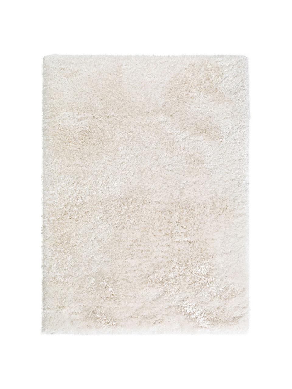 tapis blanc poils longs lea