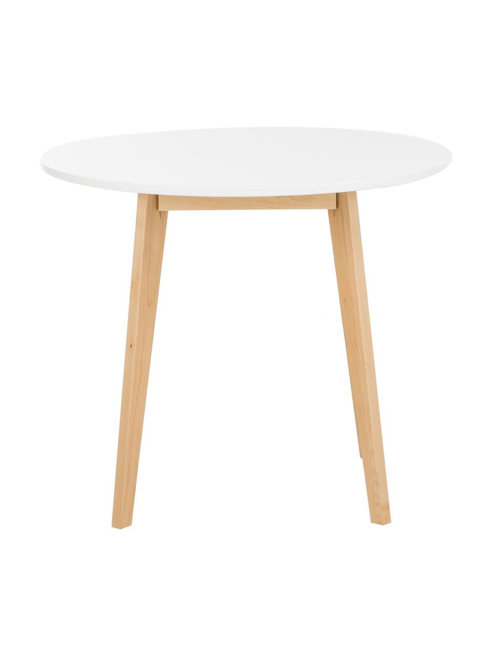 petite table ronde scandinave raven