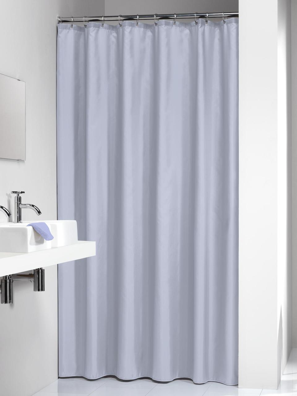 rideau de douche bleu clair granada