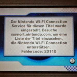Mario Kart Wii Fehler 20110