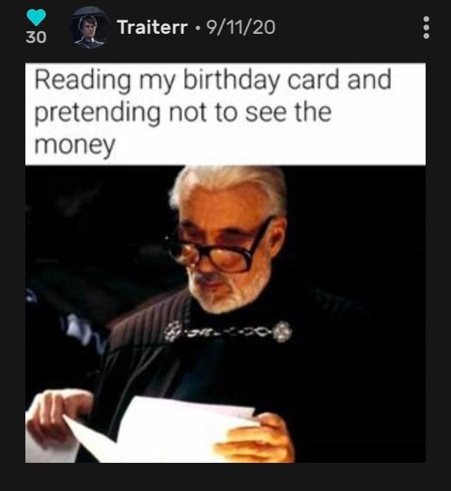 Meme Of The Week Contest Week 5 Winner Birthday Card Fandom