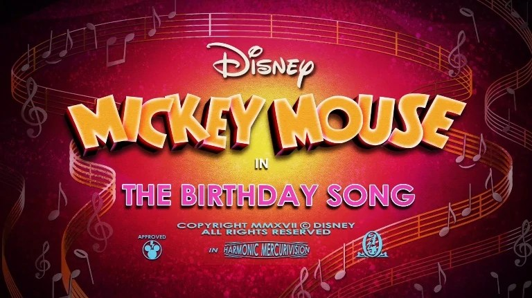 The Birthday Song Disney Wiki Fandom