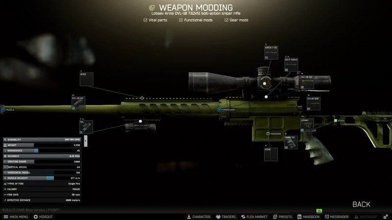 Escape From Tarkov Gunsmith Part 5 It is not difficult to imagine how a submachine gun with such an arrangement and ergonomics. escape from tarkov gunsmith part 5