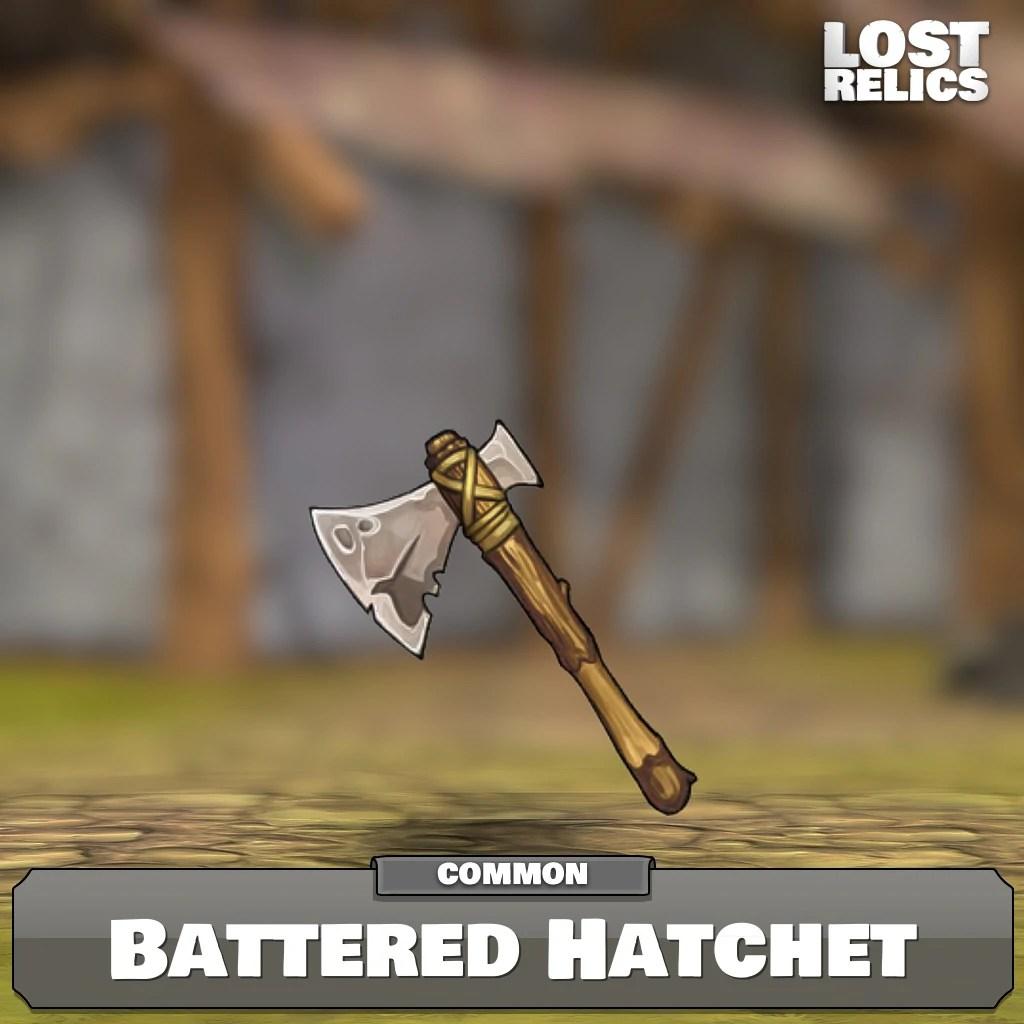 Battered Hatchet Lost Relics Game Wiki Fandom