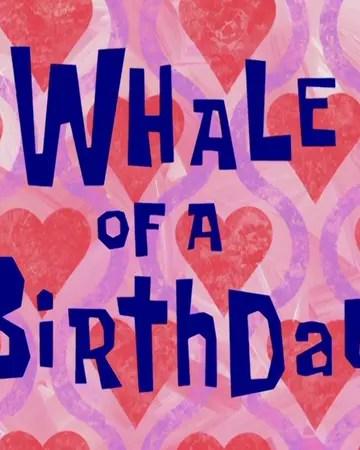 Spongebob Squarepants Whale Of A Birthday Karate Island Nickstory Wiki Fandom