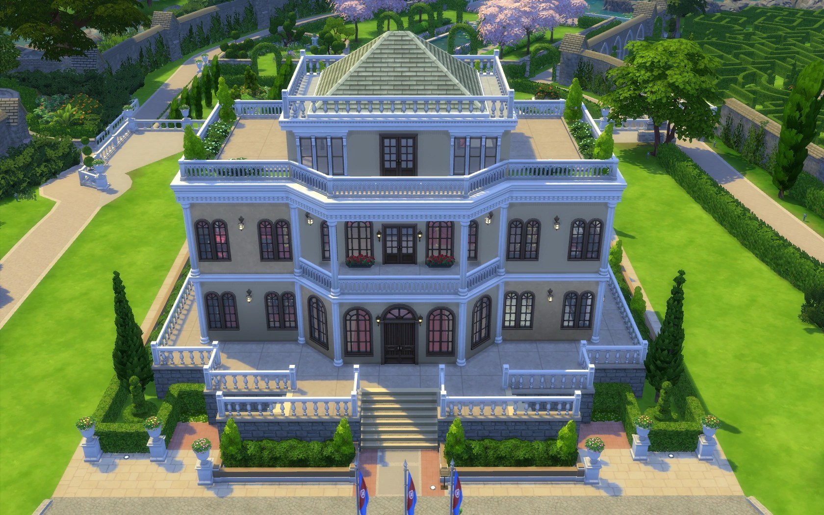 Chalet Gardens The Sims Wiki Fandom