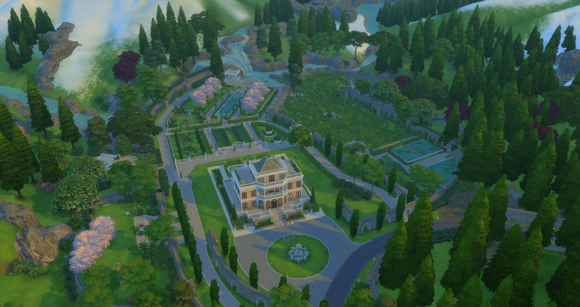 Von Haunt Estate The Sims Wiki Fandom