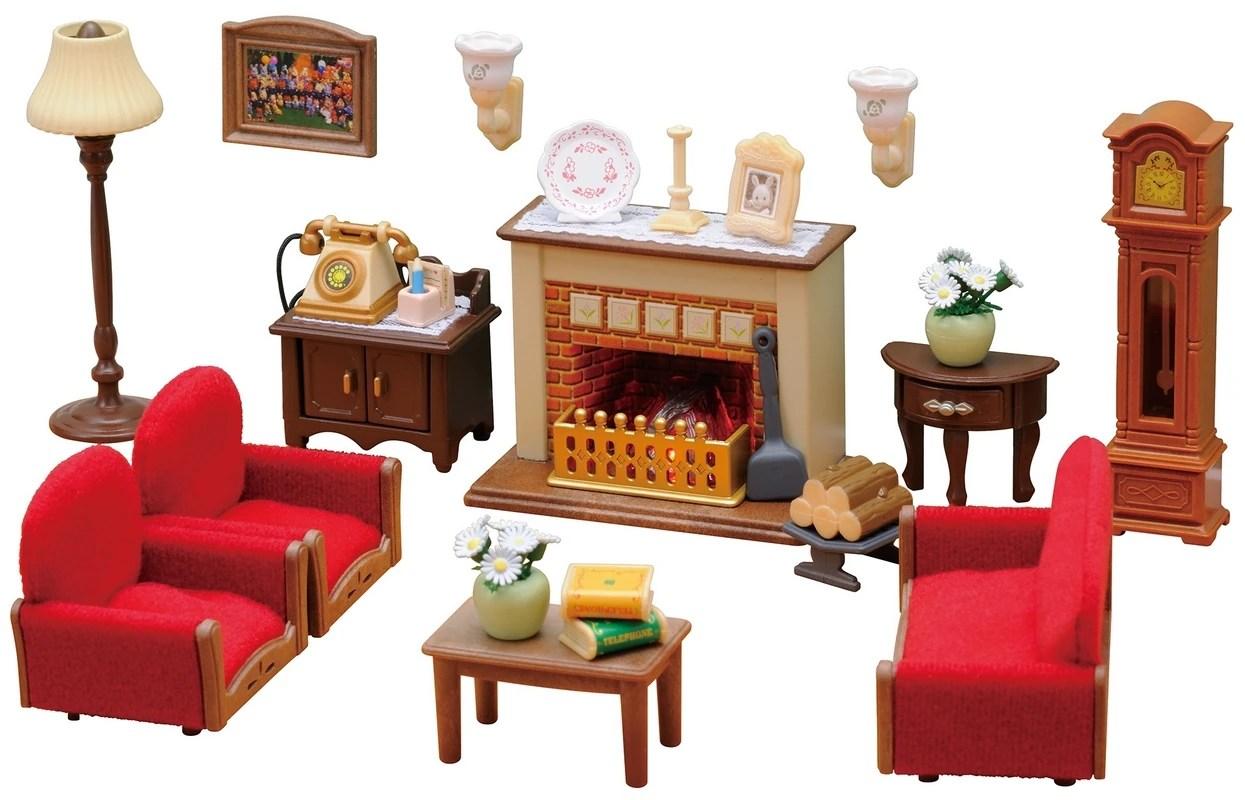 luxury living room set sylvanian