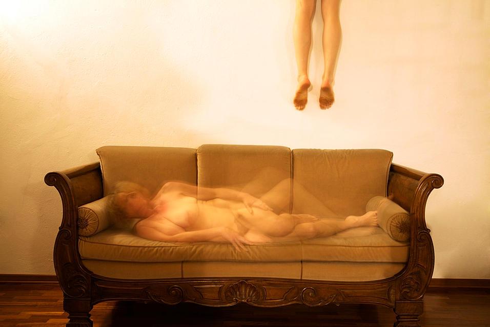 Los respiros del alma Doppio autoscatto Lavoro autobiografico in collaborazione con José Lascerai @2013