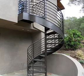 Metal Spiral Staircases Circular Staircases California Custom Iron   Outdoor Metal Spiral Staircase For Sale   Wooden Staircases   Dipped Galvanized   Wrought Iron   Railing Design   Cast Iron