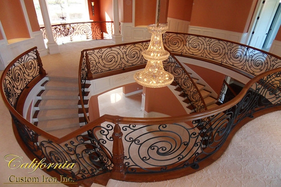 Iron Beauty Grand Excellence | The Iron Shop Stairs | Elk Grove | Staircase Kits | Spiral Stair Case | Stair Railing | Broomall Pennsylvania