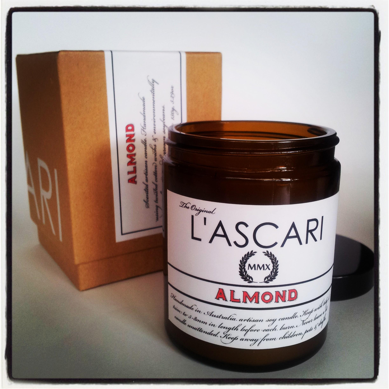 L'ASCARI MMX range: Almond