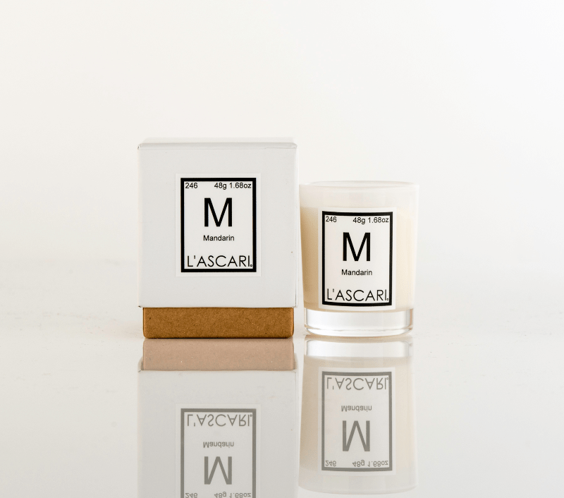 L'ASCARI LAB votive series: Mandarin