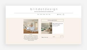 blog design britdotdesign