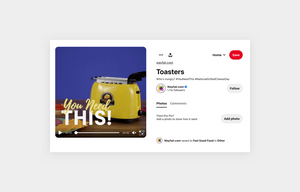 wayfair toaster product pin on pinterest social media