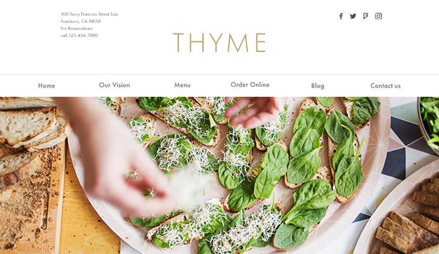 Restaurants Food Website Templates Wix Com