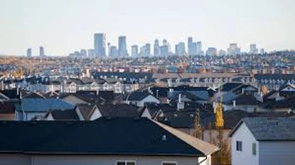 View of London from the suburbs.