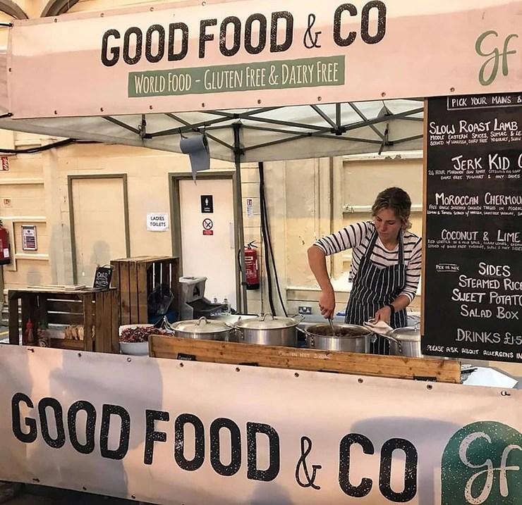 Good Food & Co. Street food stall in Bristol