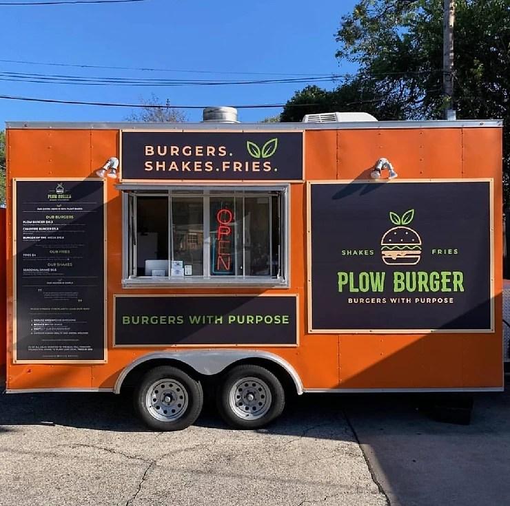 Plow Burger - Vegan burger food truck