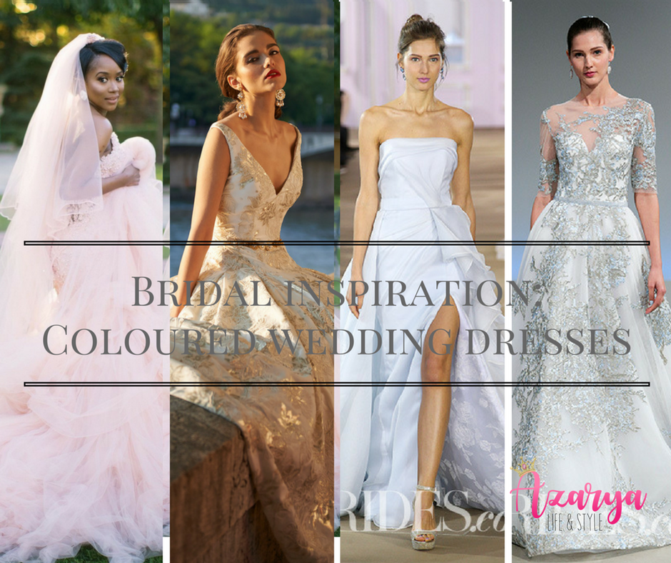 4 Wedding Dress Colours You Can Try Instead Of White - Azarya Life ...